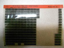 1994 MERCEDES Rear Axle Wheel Location & Drive Model 140 Microfiche OEM BOOK 94