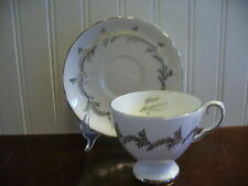 Royal Tuscan Fine Bone China Silver Anniversary Cup and Saucer England