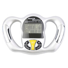 Digital LCD Body Fat Analyzer Weight Health Monitor Meter Handheld Tester QT