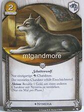 A Game of Thrones 2.0 LCG - 1x Schattenwolf  #019 - Wölfe des Nordens