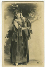 c 1903 French Theater TIPHAINE Reutliner undivided back photo postcard