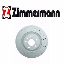 Front Disc Brake Rotor Zimmermann Sport 100333252 For: Audi A4 A5, A4 A5 Quattro