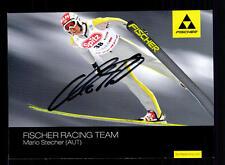 Mario Stecher Autogrammkarte Original Signiert Skispringen + A 134454