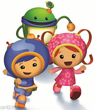 """9.5"""" TEAM UMIZOOMI GEO MILLI BOT  CHARACTER BIRTHDAY WALL DECOR CUT OUT"""