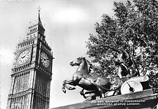 B55796 London Big Ben Boadicea Statue uk