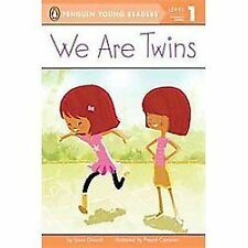 We Are Twins (Penguin Young Readers, Level 1), Driscoll, Laura, Good Book