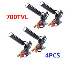 (4) Built-in SONY CCD Outdoor Bullet Security Cameras Wide Angle Color CCTV