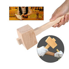 250mm solid Beech Wood Carving Mallet Carpenters Hammer Hand Woodworking Tool WY