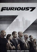 Brand New Furious 7 Movie (DVD, 2015) - Paul Walker, Vin Diesel The Fast and Fur