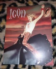 "Madonna ""icon"" official fan club magazine no 36 From 2001 Very Rare Queen Of Pop"