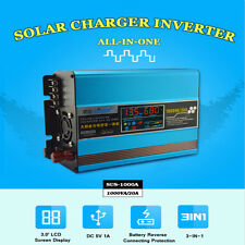 1000W 20A Solar Charger Inverter all-in-one Built In Controller DC 12V AC 220V