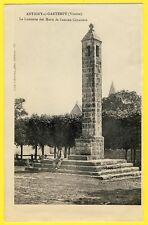 cpa Rare 86 - ANTIGNY sur GARTEMPE LANTERNE des MORTS de l'Ancien CIMETIERE