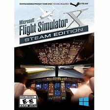 Microsoft Flight Simulator X Steam Edition for PC - Windows NEW