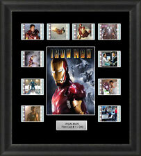 IRON MAN FRAMED FILM CELL MEMORABILIA ROBERT DOWNEY JR