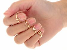 FemNmas Fashion 4 ring Set | Letter LOVE Nail midi finger Rings | lowest Price