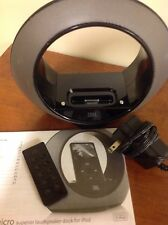 JBL Radial Micro Dock Docking Speaker for iPod iPhone - video out & remote