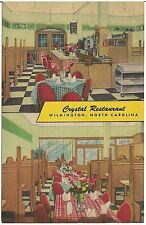 Crystal Restaurant in Wilmington NC Postcard
