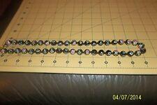 Antique Vintage Cloisonne  Hand Painted Enamel Bead Necklace