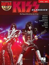 Kiss Classics Guitar Play Along 8 Songs! Tab Book Cd NEW!