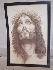 """Mark Cannon JESUS CROWN OF THORNS Print 12.75"""" x 8.75"""""""
