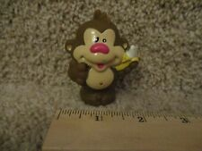 Vintage Little Tikes tots Chunky People toddle Zoo Train Monkey animal part toy