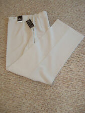 NWT SZ 22 L29 FAB SAND STYLISH TROUSERS / STRECH / RELAXED WAIST EASY COMFORT