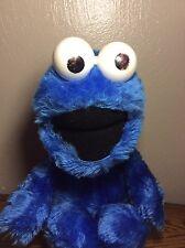 """VINTAGE APPLAUSE SESAME STREET BLUE COOKIE MONSTER PLUSH 16"""" STUFFED ANIMAL"""