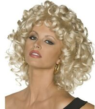50s 1950s Sandy from Grease Last Scene Fancy Dress Wig  New by Smiffys