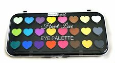 Beauty Treats 24 Assorted Colors Heart Love Eyeshadow Palette-Matte and Shimmer