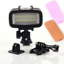 40m Underwater Waterproof Diving Video LED Light Lamp for GoPro Hero 3 4 Camera