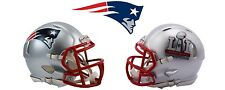 New England Patriots SUPER BOWL 51 LI CHAMPIONS Speed Mini Helmet IN-STOCK!!