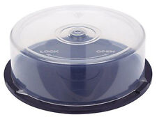 4 PIECES of 25-Disc Capacity Cakebox CD/DVD Plastic Storage Containers/Spindles