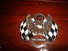 "HARLEY DAVIDSON VINTAGE RACING EAGLE DECAL 3.5"" X 3.25"" (INSIDE) NEW"