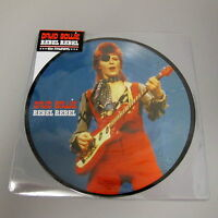 """DAVID BOWIE - REBEL REBEL 40th ANNIVERSARY 7"""" PICTURE DISC - MINT!"""
