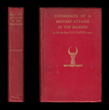 EXPERIENCES OF MILITARY ATTACHÉ BALKANS 1914-15 Serbia GREECE Venizelos BULGARIA