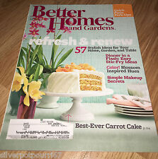 April 2013 issue of Better Homes and Gardens Magazine #198