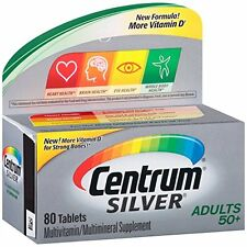 Centrum Silver Multivitamin/Multimineral Supplement 80 Tablets