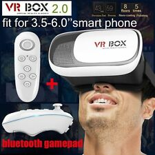 VR BOX 2 Headset Virtual Reality Glasses 3D Samsung iPhone 5 6s Plus Bluetooth