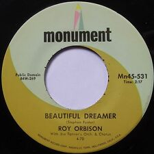 ROY ORBISON: BEAUTIFUL DREAMER / PRETTY PAPER classic ROCKABILLY country 45