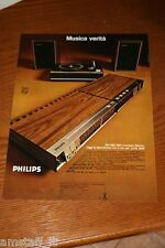 BE23=1972=PHILIPS STEREO HI FI AMPILIFICATORE=PUBBLICITA'=ADVERTISING=WERBUNG=
