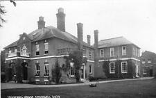 Crondall Churchill House Nr Farnham RP old postcard by Chapman & Son 5973 used