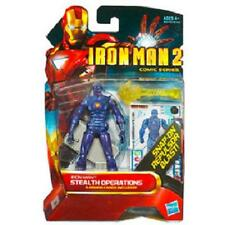 """IRON MAN ( 4""""-INCH ) STEALTH ARMOR ( 2010) MARVEL COMIC SERIES ACTION FIGURE #24"""