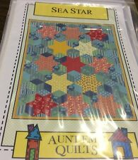 SEA STAR  BY AUNT EM'S QUILT PATTERN # AEQ26