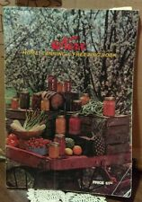 Kerr Home Canning And Freezing Book 1977 Recipes