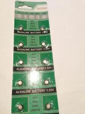 10X Alkaline Battery 1.55V soda AG1 364A CX60 LR621W Free Shipping Uk seller