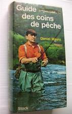 LA PECHE GUIDE DES COINS REGIONS FRANCE CONSEILS POISSONS LIVRE BOOK