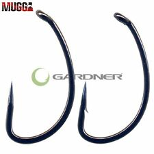 Gardner MUGGA CARP FISHING HOOKS Packet of 10 - BARBLESS SIZE 6