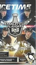 Icetime Pittsburgh Pens Official Game Program Stanley Cup Playoffs R1G5 5/9/13