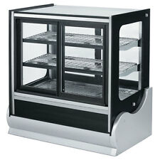"""Vollrath 36"""" Cubed Glass Cooler Display Case w/ Front & Rear Access - 40886"""