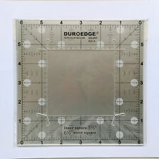 "Duroedge Non-Slip Ruler ~ 6½"" and 3½"" Squares"